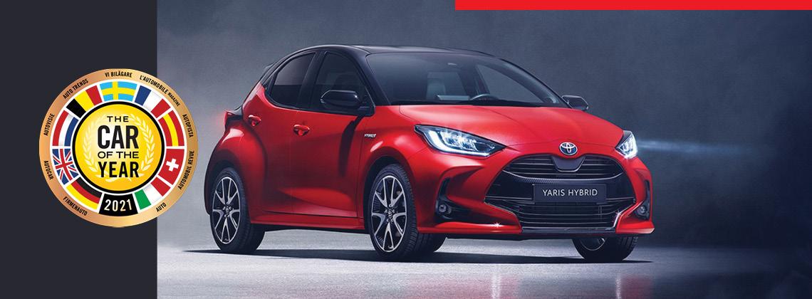 Naujasis Toyota Yaris. Tik pirmyn.