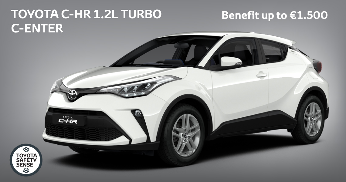 Toyota C-HR 1.2T C-ENTER Offer Unlocked