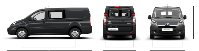toyota proace l 39 utilitaire qui a tout compris. Black Bedroom Furniture Sets. Home Design Ideas
