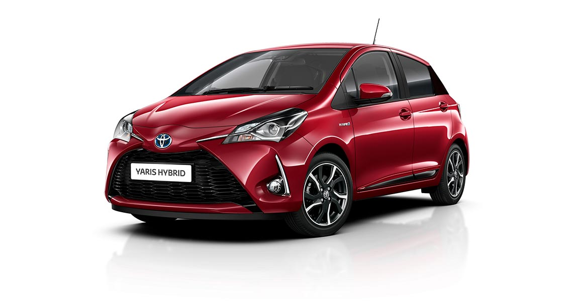 Yaris Hybrid Trend Selection