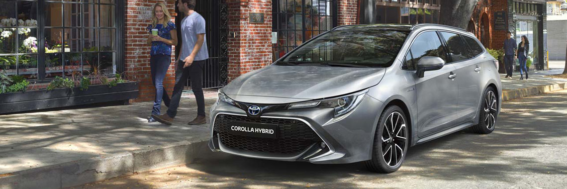 Nouvelle Corolla Touring Sports: pack Business ou pack Luxury offert*