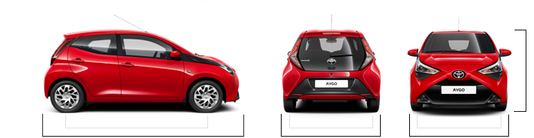 nouvelle toyota aygo finitions motorisations. Black Bedroom Furniture Sets. Home Design Ideas