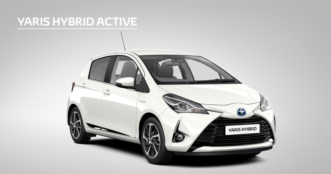 £580 Customer Saving on Yaris Active Hybrid