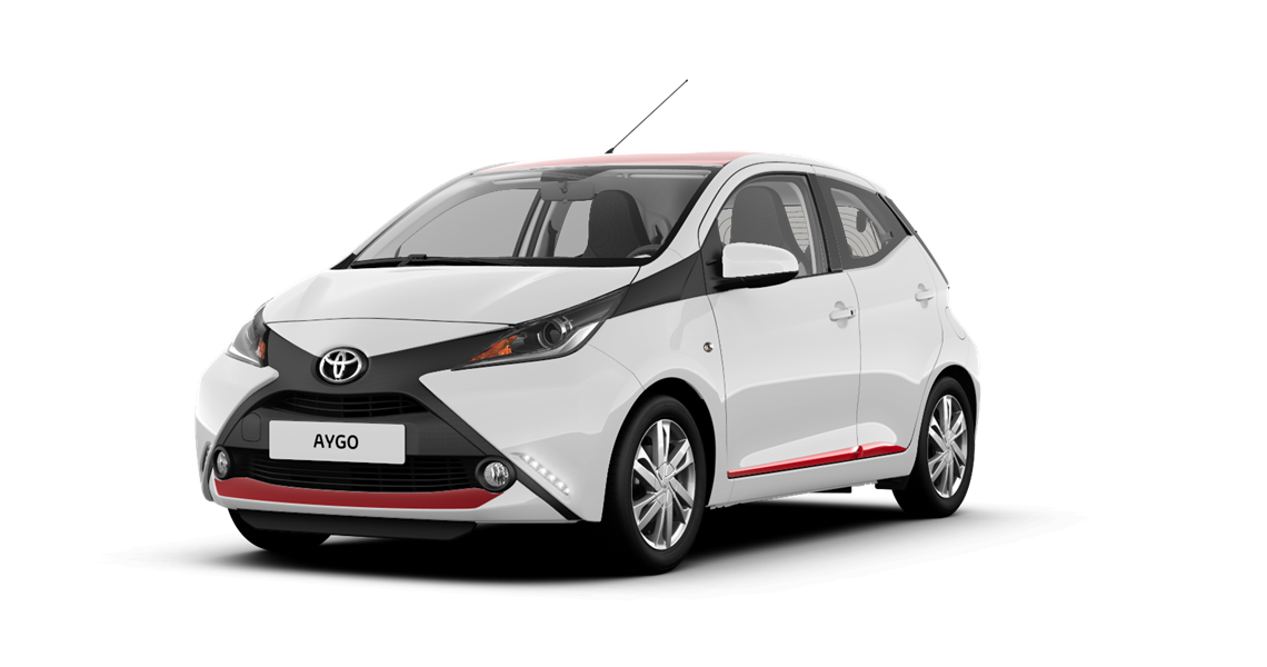 toyota nuevo aygo pack x line rojo x red top. Black Bedroom Furniture Sets. Home Design Ideas