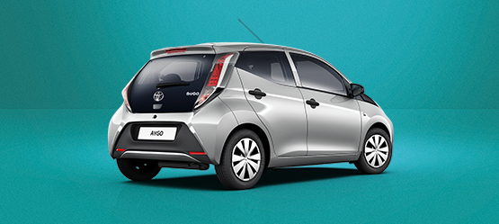 De AYGO x-now met o.a. standaard airconditioning