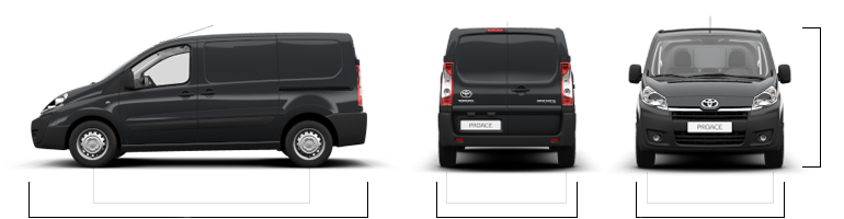 toyota proace kleintransporter ihr zuverl ssiger partner. Black Bedroom Furniture Sets. Home Design Ideas