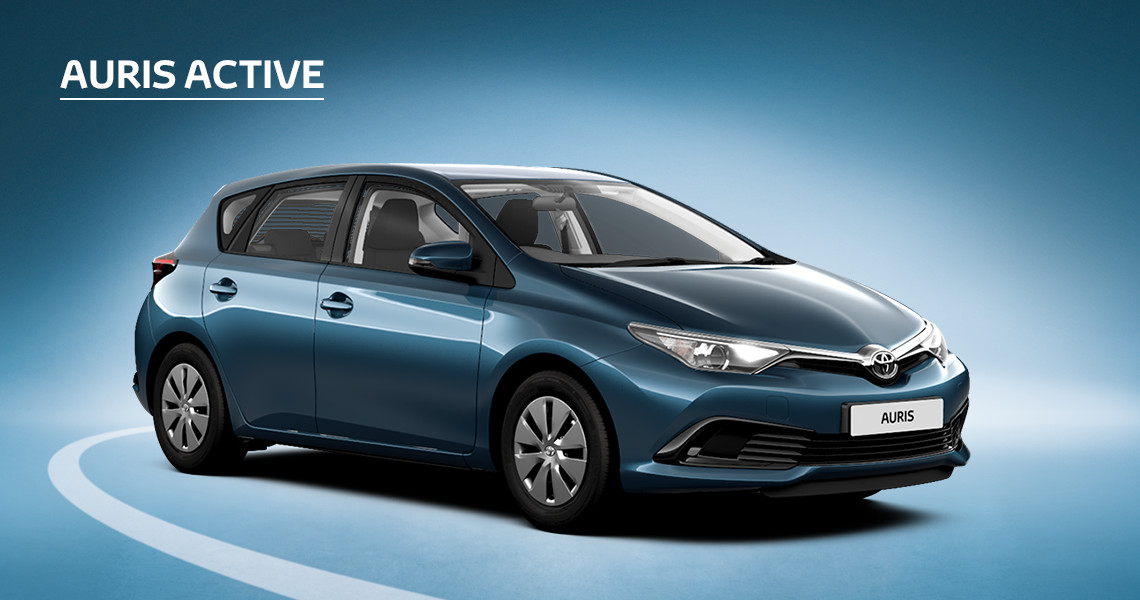 £660 Customer Saving on Auris Active (Exc Hybrid)