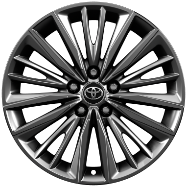"18"" alloy wheels (20-spoke)"